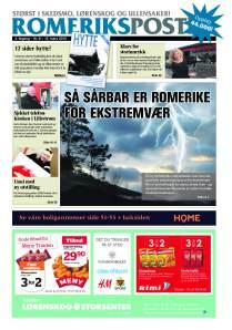 Romeriksposten utgave 8 forside